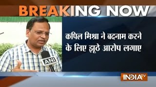 AAP leader Satyendra Jain rejects Kapil Mishra's allegation on himself