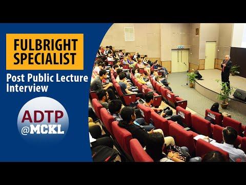 ADTP@MCKL | Post Public Lecture with Dr. Stephen J. Farnsworth