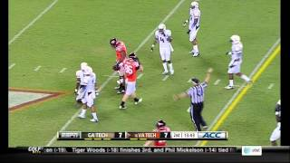 Logan Thomas vs Georgia Tech (2012)