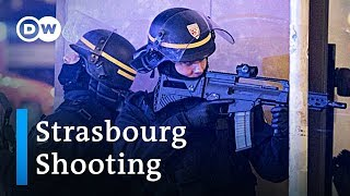 Video Manhunt under way after shooting at Strasbourg christmas market | DW News MP3, 3GP, MP4, WEBM, AVI, FLV Desember 2018