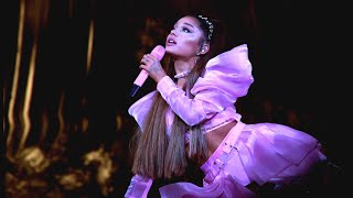 Ariana Grande Tears Up Over Mac Miller During Concert in His Hometown