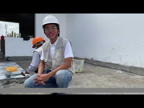 Quy trình thi công cắt và ốp gạch tường như thế nào là đúng kỹ thuật?