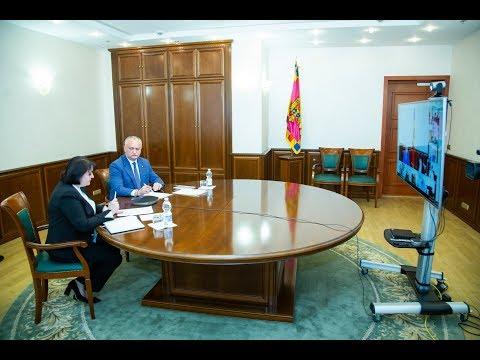 Șeful statului a prezidat ședința Centrului Unic de Comandă de gestionare a crizei provocate de COVID-19