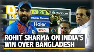 Rohit Sharma on India's Win Over Bangladesh | The Quint