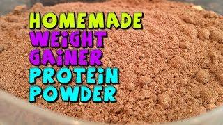 HOMEMADE Weight Gainer Protein Powder Recipe (CHEAP)