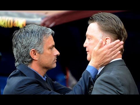 jose - Mourinho was Van Gaal's assistant at Barcelona, now the two will meet as managers of Chelsea and Man United... and we can't wait! So we pitch them head-to-head on YouTube. Who wins this war...