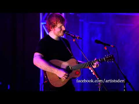 Ed Sheeran - Wake Me Up [Live From The Artists Den]