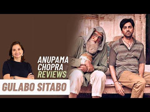 Gulabo Sitabo | Bollywood Movie Review by Anupama Chopra | Amitabh Bachchan | Ayushmann Khurrana