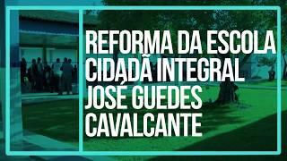 A Reforma da Escola Cidadã Integral José Guedes Cavalcante já está fazendo a diferença na vida dos estudantes. Só em 2017, serão entregues 55 escolas reformadas por toda a Paraíba. O Governo do Estado quer garantir uma educação melhor #vivaaeducação