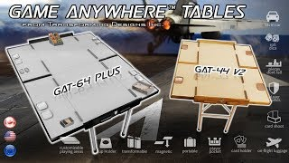The next Game Anywhere Table is on Kickstarter! My friends and I got first hand experience with the new 6ft by 4ft table and here's ...