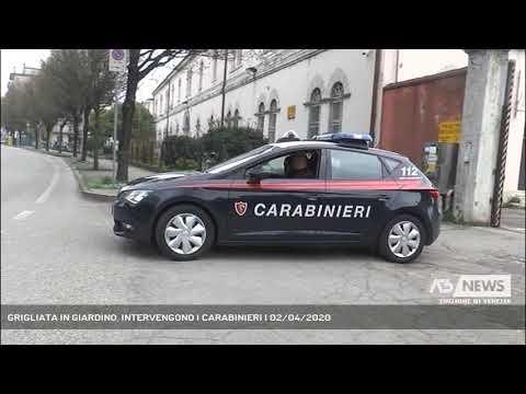 GRIGLIATA IN GIARDINO, INTERVENGONO I CARABINIERI | 02/04/2020
