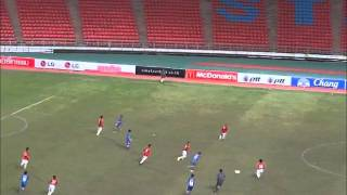 Video THAILAND   VS   INDONESIA   U16  2011 MP3, 3GP, MP4, WEBM, AVI, FLV Maret 2018