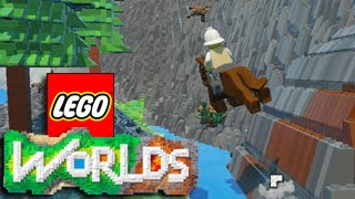 LEGO Worlds - Let's Play Gameplay Walkthrough! Cars, Horses, Polar Bears, Steamroller + MORE
