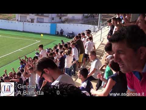 """Preview video GINOSA-A.BARLETTA 1-0 Ginosa concede il bis e manda in visibilio il """"Teresa Miani"""""""