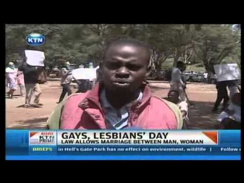 Recognition - Earlier today tens of Kenyans identifying themselves as gays and lesbians marched on the streets of Nairobi demanding what they call recognition by the gover...