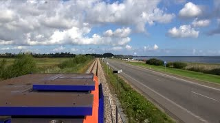 polska mapa video train cab ride view Gdynia - Reda