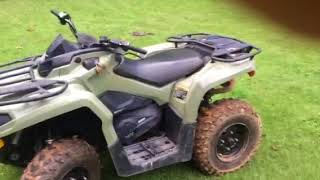 3. 2018 Can Am Outlander 450 review