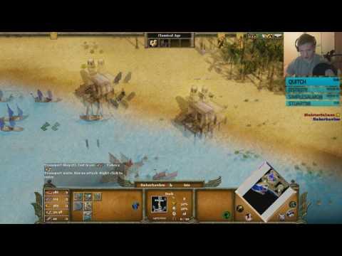 Age of Mythology 1v1 - Battle for the Nile!