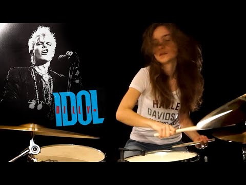 Rebel Yell (Billy Idol); Drum Cover by Sina