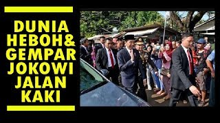 Video DUNIA HEBOH ! SAAT JOKOWI JALAN KAKI KE LOKASI HUT TNI KE 72 MP3, 3GP, MP4, WEBM, AVI, FLV April 2018