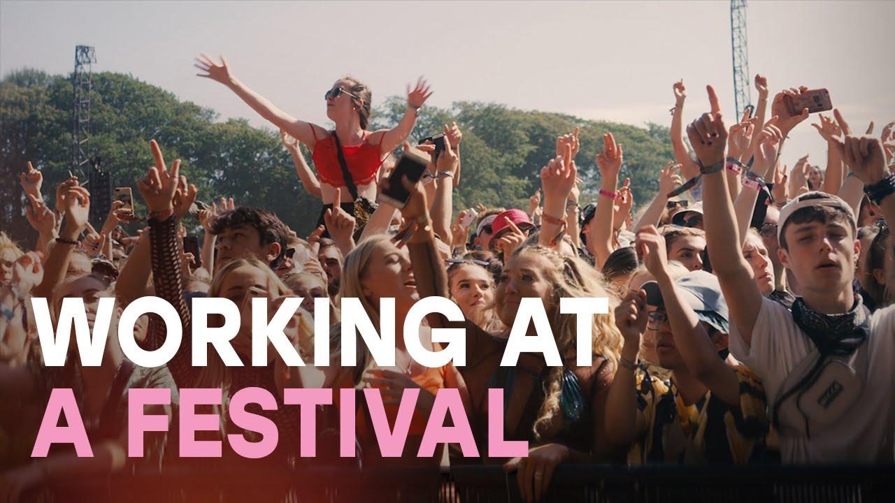 Meet Ellie who volunteered at a top UK music festival
