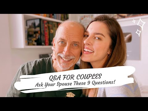Q&A FOR COUPLES | ASK YOUR PARTNER THESE 9 QUESTIONS !