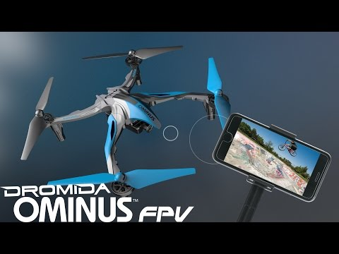 Ominus FPV 238 mm Electric Quad w/Wi-Fi Camera by Dromida