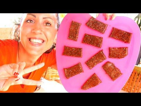 cucina sana - barrette al cioccolato vegan e crudiste