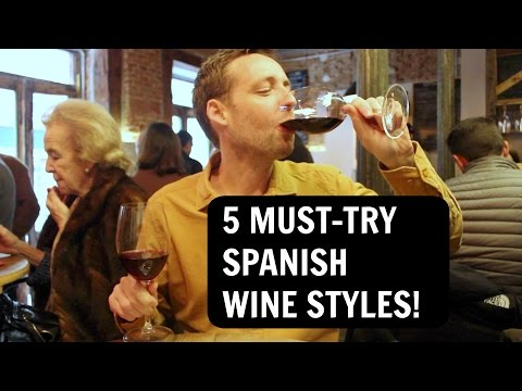 5 BEST Spanish Wine Styles (Vermouth, Red, White, Cava, Sherry)!