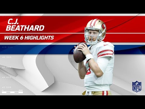 Video: C.J. Beathard's Gritty Effort w/ 245 Yards & 1 TD! | 49ers vs. Redskins | Wk 6 Player Highlights