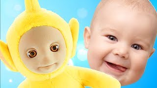 Jesus Loves You - Learn Colors with Teletubbies Toys Children Toddlers and Babies Finger Family Song