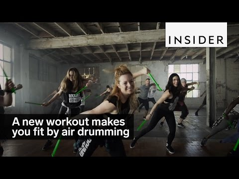 100% Real: THE AIR DRUM WORKOUT