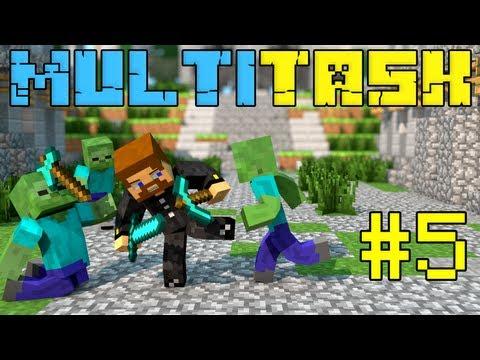 Minecraft MultiTask #5 - Загадочная пустынная деревня