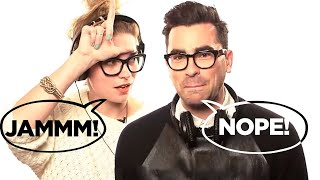 Video Schitt's Creek's Dan Levy & Annie Murphy Play 'Jam or Not a Jam?' MP3, 3GP, MP4, WEBM, AVI, FLV Juni 2018