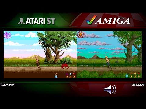 Wrath of the Demon | Amiga vs Atari ST | Comparison - Dual Longplay