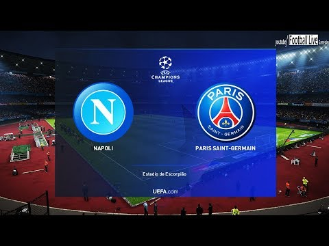 PES 2019 | NAPOLI Vs PSG | UEFA Champions League - UCL | Gameplay P