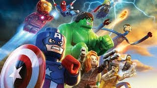 Animation Full Movie In English  Lego Marvel Super Heroes  Full Animated Movie For Kids