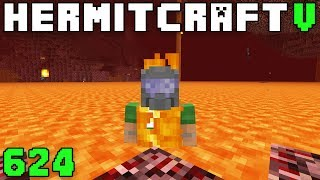 Hermitcraft V 624 How To Swim In Lava!