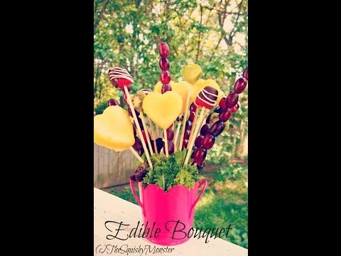 How to Make an Edible Fruit Bouquet /Arrangement (видео)