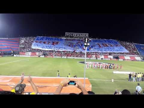 Cerro Porteño recibimiento copa libertadores - La Plaza y Comando - Cerro Porteño