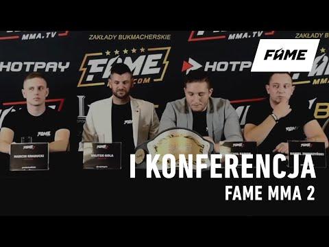 [POWTÓRKA] 1 WIELKA KONFERENCJA FAME MMA 2: Rafonix vs Magical