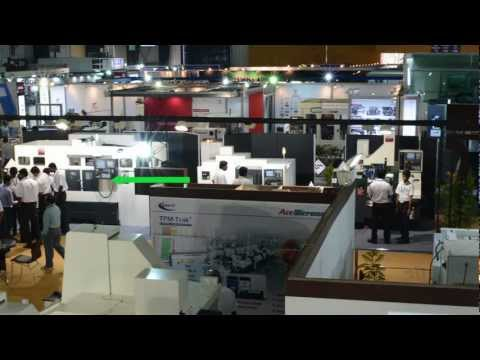Ace Micromatic Group IMTEX 2013 - Turning Centers