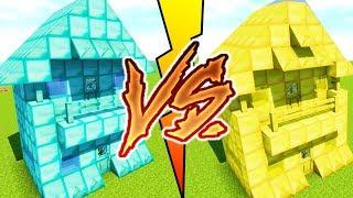 Video DIAMOND HOUSE VS GOLD HOUSE CHALLENGE ! MAISON EN DIAMANTS VS MAISON EN OR MINECRAFT MP3, 3GP, MP4, WEBM, AVI, FLV September 2017