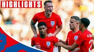 Video England 2-0 Costa Rica | Rashford Scores a Stunner! | Official Highlights MP3, 3GP, MP4, WEBM, AVI, FLV November 2018