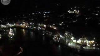 Harbour of Neustadt in Holstein, Germany in timelapse