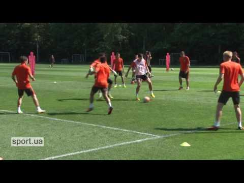 Открытая тренировка Шахтера (видео)