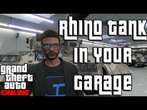 GTA 5 Online FREE RHINO TANK in Your GARAGE!
