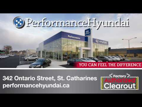 Factory Authorized Clearout on now at Performance Hyundai