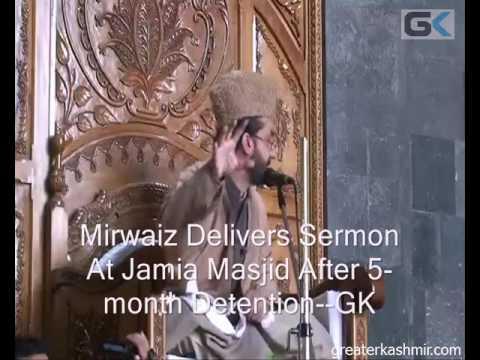 Mirwaiz Delivers Sermon At Jamia Masjid After 5-month Detention