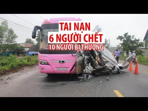 Tai nạn giao thông 6 người chết kinh hoàng ở Tây Ninh